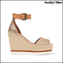 【See by Chloe(シーバイクロエ)】espadrille wedge sandals