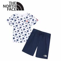 THE NORTH FACE〜K'S LITTLE STARS Tシャツパンツセット 3色