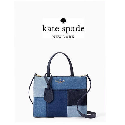 Kate Spade☆thompson street fabric sam☆デニム2WAY