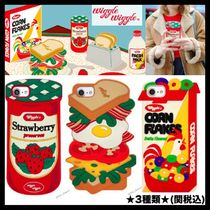 ★Wiggle Wiggle★Funky Case★ブレックファーストiPhone(3種類)