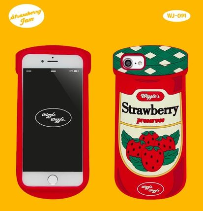 wiggle wiggle スマホケース・テックアクセサリー ★Wiggle Wiggle★Funky Case★ブレックファーストiPhone(3種類)(3)
