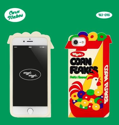 wiggle wiggle スマホケース・テックアクセサリー ★Wiggle Wiggle★Funky Case★ブレックファーストiPhone(3種類)(5)