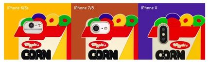 wiggle wiggle スマホケース・テックアクセサリー ★Wiggle Wiggle★Funky Case★ブレックファーストiPhone(3種類)(8)