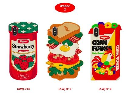 wiggle wiggle スマホケース・テックアクセサリー ★Wiggle Wiggle★Funky Case★ブレックファーストiPhone(3種類)(10)