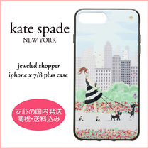 【国内発送】jeweled shopper iPhone x 7/8 plus case セール