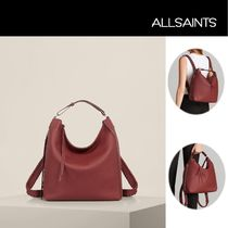 ALLSAINTS(オールセインツ) バックパック・リュック ALLSAINTS(オールセインツ) Kita Small Backpack (BERRY RED)