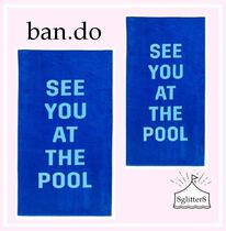 ban.do☆ジャンボタオル 〜SEE YOU AT THE POOL〜 BLUE