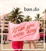 ban.do☆ジャンボタオル〜WISH YOU WERE HERE〜 PINK
