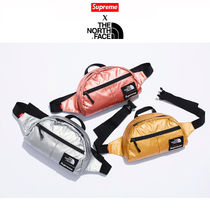 正規 SUPREME /The North Face Metallic Roo II Lumber Pack