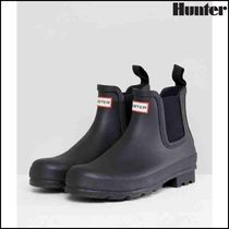 【HUNTER(ハンター)】Hunter Original Chelsea Boots In Black