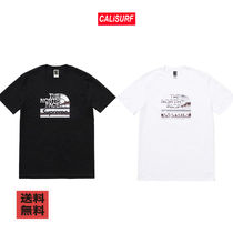 【BUYMA最安値】SS18 SUPREME x THE NORTH FACE コラボ/TEE