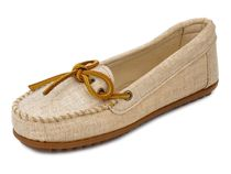 MINNETONKA モカシン 231 CANVAS MOC NATURAL nshj231natu