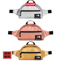 【最安値】SS18 SUPREME x THE NORTH FACE コラボ/LUMBAR BAG