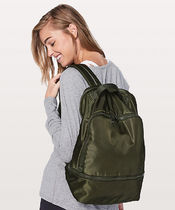 パソコン収納可能☆City Adventurer Backpack/Dark Olive