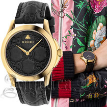 ★関税・送料込★GUCCI G-Timeless Black Dial Ladies YA1264034
