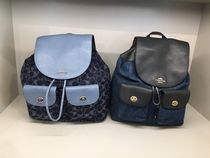 【COACH】新作☆大容量!BILLIE BACKPACK  F25883/F25892☆Denim