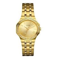 ゲス Guess Ladies Watch W0143L2 Gold Tone 腕時計