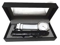 ゲス Guess White Rose Glitz 2 PC Watch Set 腕時計