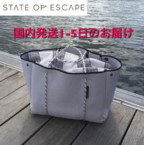 State of Escape(ステイトオブエスケープ) トートバッグ ステイトオブエスケープ★トートバッグ グレー人気色♪
