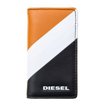 DIESEL キーケース X05357 P1684 H6714 Golden Poppy-Black