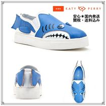 Katy Perry(ケイティ ペリー) キッズスニーカー Katy Perryキッズ*SNEAKY LEFTY*シャークブルースニーカー1282