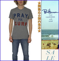 AVIATOR NATION(アビエーターネイション) Tシャツ・カットソー 関税込Aviator Nation Pray For Surf Crew Tシャツ ロンハーマン