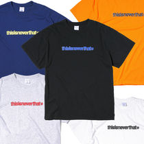 thisisneverthat 2018SS cracked t-logo #T-shirt
