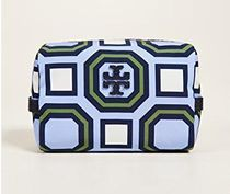 Tory Burch Printed Nylon Medium Cosmetic Case 関税・送料込み