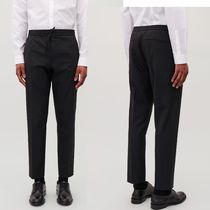 """COS(コス) パンツ """"COS MEN""""SLIM-FIT TROUSERS WITH ELASTIC WAIST BLACK"""
