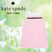 Kate Spade ケイトスペード Little Girl's Sleeveless Bow Dress