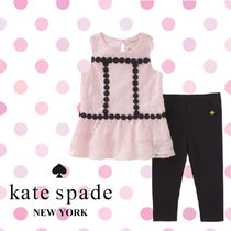 Kate Spade ケイトスペード Floral Mesh Tシャツ&レギンスセット
