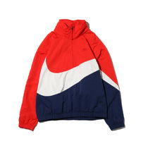 国内配送 NIKE MEN'S ANORAK JACKET BIG SWOOSH COJP