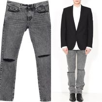 R13(アール13) デニム・ジーパン SAINT LAURENT Low Rise Busted Knee Jeans
