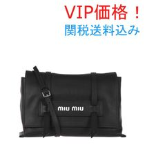 VIP価格!MiuMiu Grace Lux leather shoulder bag ♪