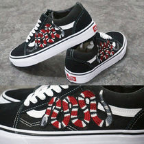 ◆[VANS]◆ 「G Snake 刺繍 Customize」Hand Made Old Skool
