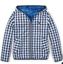 新作!大人もOK♪ Reversible Hooded Jacket  boys 8~20