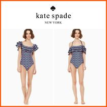☆KATE SPADE☆botany bay off the shoulder one-piece swimsuit