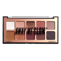 NYX(エヌワイエックス) アイメイク AWAY WE GLOW SHADOW PALETTE LOVEBEAM