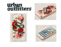 Urban Outfitters Snake Rose iPhone 8/7/6 Case