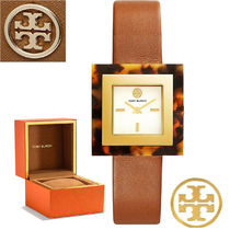限定セール Tory Burch Sedgewick Luggage Leather Strap 腕時計