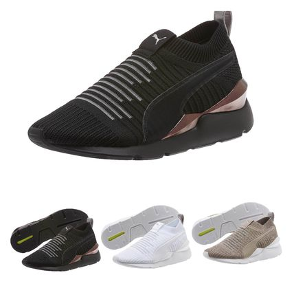 275bc81a セレーナゴメス愛用!!PUMA MUSE SLIP ON JULY WOMEN'S SNEAKERS