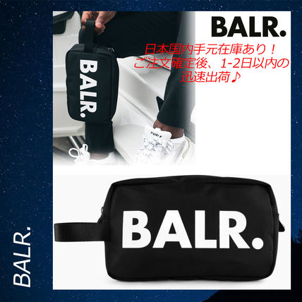 BALR クラッチバッグ 【関税送料込】 BALR U-SERIES TOILETRY KIT コンパクト バッグ