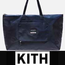 KITH NYC(キスニューヨークシティ) トートバッグ KITH X TUMI JUST IN CASE TOTE NAVY トートバッグ ロゴポーチ付