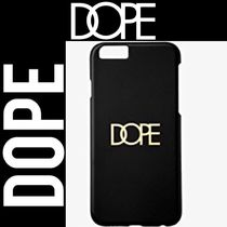 DOPE ☆Gold Logo Snap-On IPhone6(s)Case スマホケース