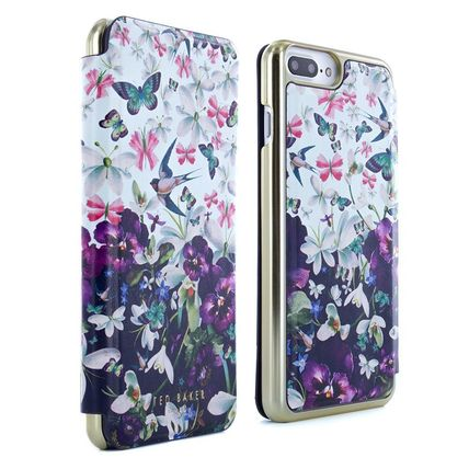 TED BAKER スマホケース・テックアクセサリー Ted baker iPhone7Plus専用 SS17 BECCY Entangled Enchantment