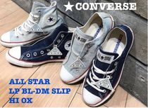 【CONVERSE】コンバース デニム ALL STAR LP BL-DM SLIP HI OX
