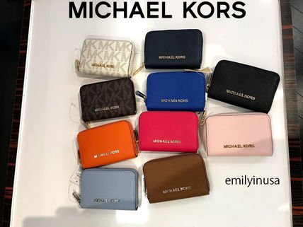 Michael Kors★JET SET TRAVEL カード・コインケース