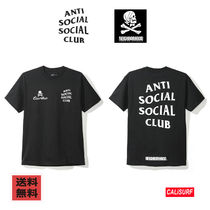 【在庫あり】Anti Social Social Club x Neighborhood Black Tee