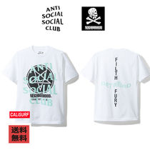 Anti Social Social Club x Neighborhood  Filth Fury TEE-WHITE