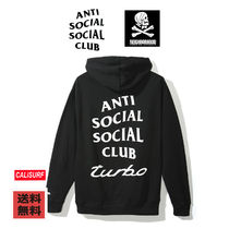 【人気】Anti Social Social Club x Neighborhood  BLACK HOODIE